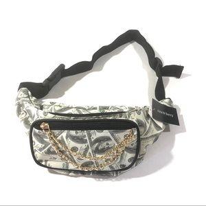 Waist Bag Dollar 💵 Print Womens Fanny Packs